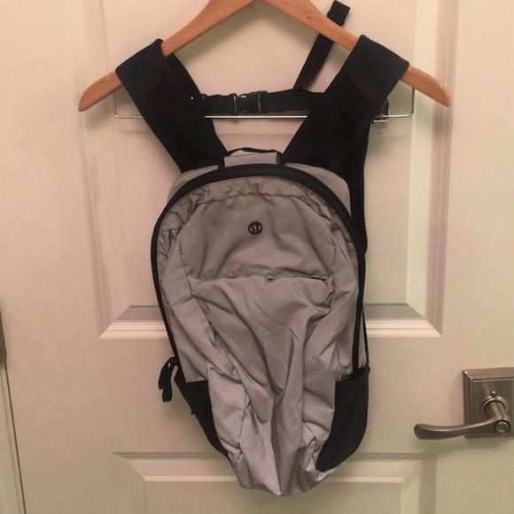 LuluLemon 'Run From Work' reflective backpack